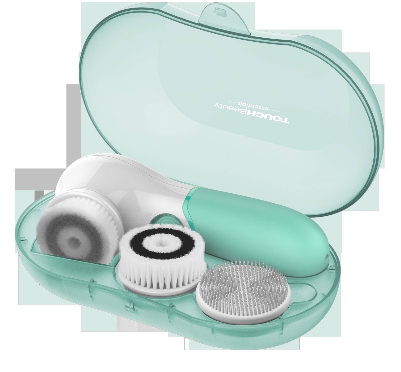Electric Facial Cleanser SET Набор с электрическим аппаратом для очищения кожи лица TouchBeauty